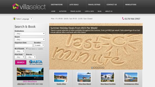 New Merchant – Villa Select
