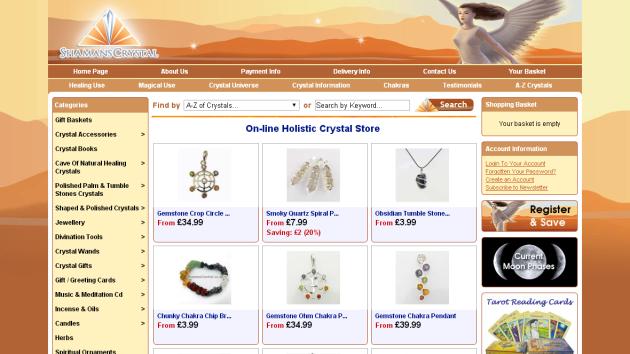 New Merchant – Shamans Crystals