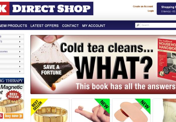 New Merchant – UK Direct Shop