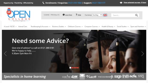 New Merchant – UK Open college