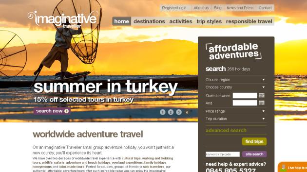 New Merchant – Imaginative Traveller