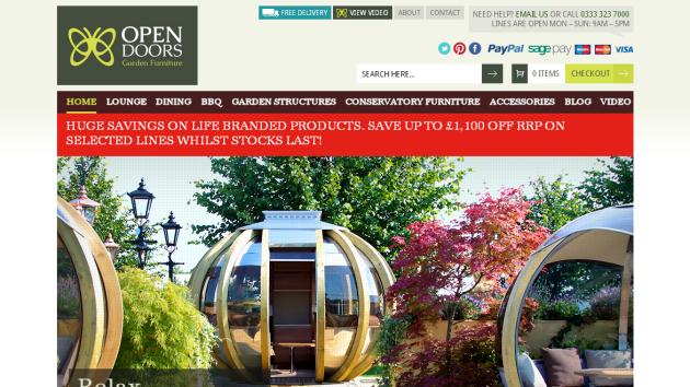 New Merchant – Open Doors Garden Furniture