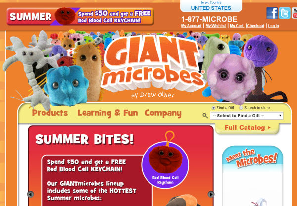 New Merchant – Giant Microbes