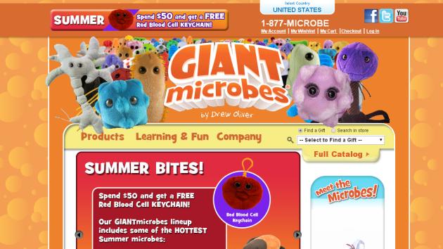 New Merchant – Giant Microbes