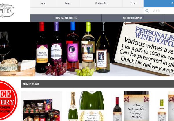 New Merchant – Personalised Bottles