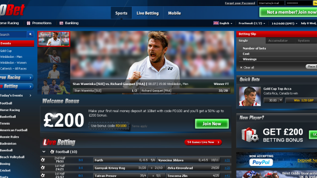 New Merchant – 10Bet Sports