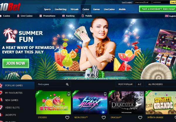 New Merchant – 10Bet Casino