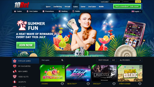New Merchant – 10Bet Casino