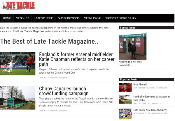 New Merchant – Late Tackle Magazine