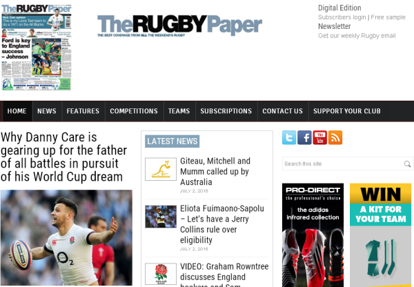 New Merchant – The Rugby Paper