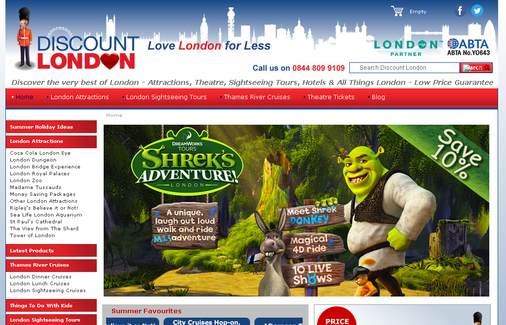 Active Discount London Vouchers & Discount Codes for December London is full of world-famous attractions, and whether you live there or are planning to visit, Discount London is a travel company ready to make your visit to the capital a memorable one!