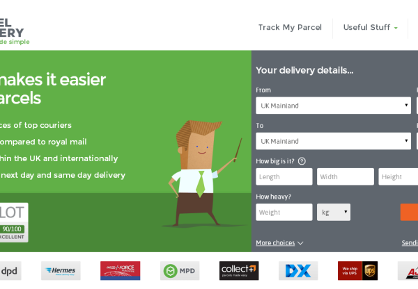 New Merchant – MyParcelDelivery.com