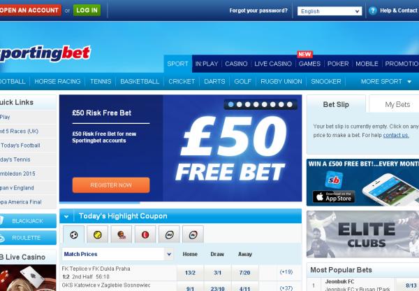 New Merchant- Sporting Bet