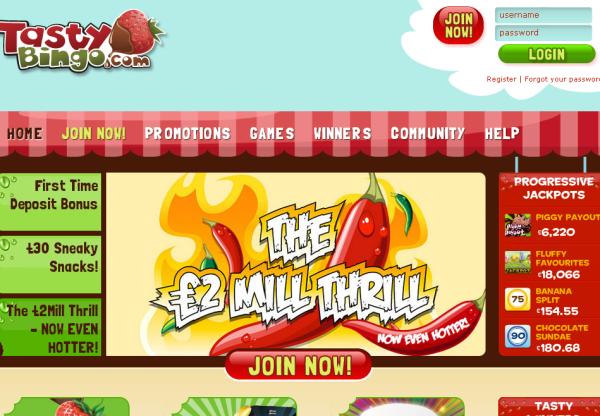 New Merchant – Tasty Bingo: incentive and Non-incentive