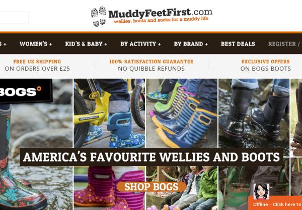 Muddy Feet First current voucher codes