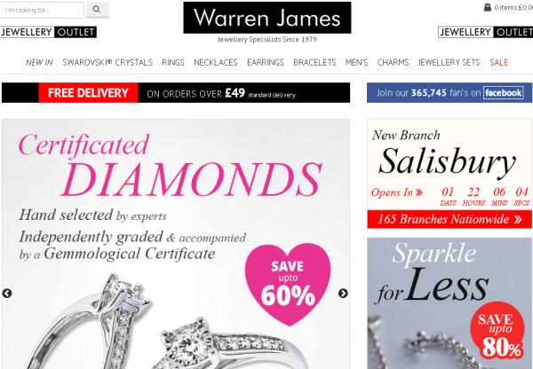 Warren James sale!