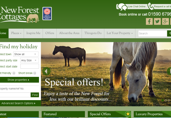 New Merchant: New Forest Cottages