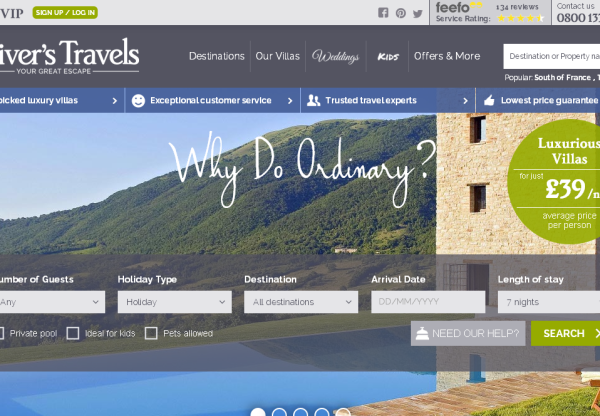 Oliver's Travels – New Voucher Code offer