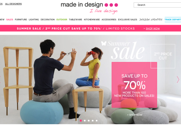 Made In Design new vouchers!