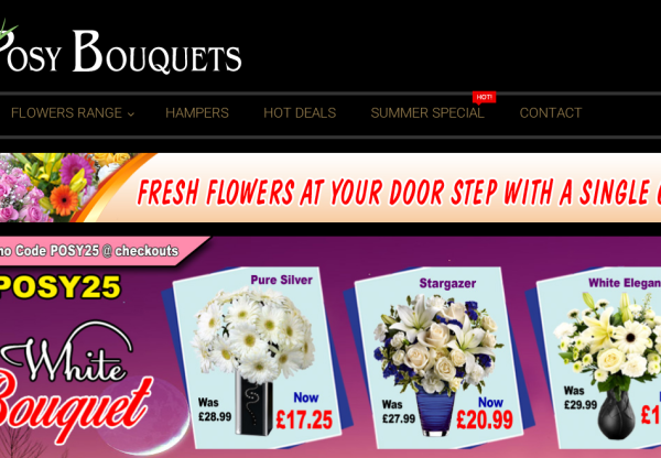 New merchant Posy Bouquets!