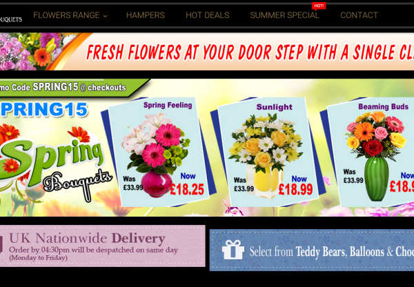 Posy Bouquets increased commission & voucher codes!