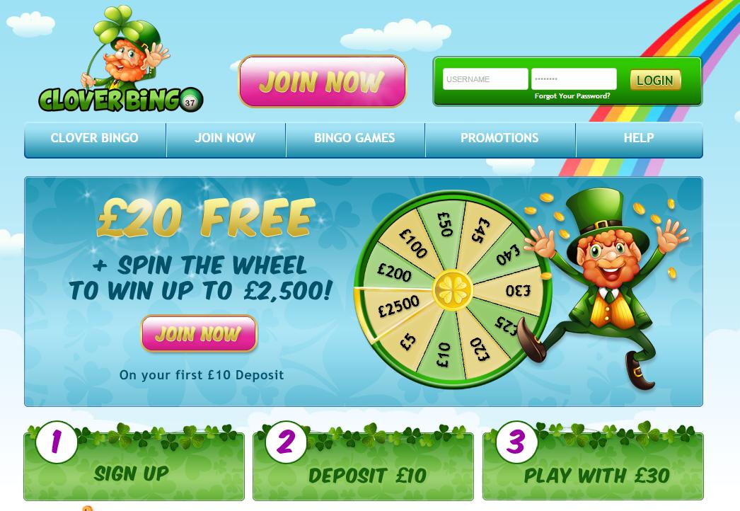 clover bingo