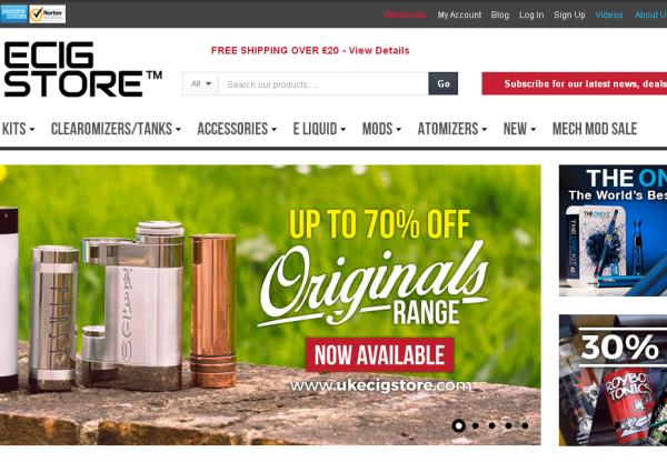 New Advertiser – UKEcigStore