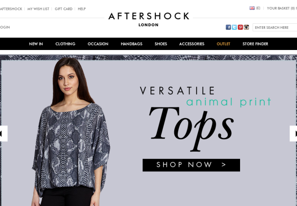 New Advertiser – Aftershock