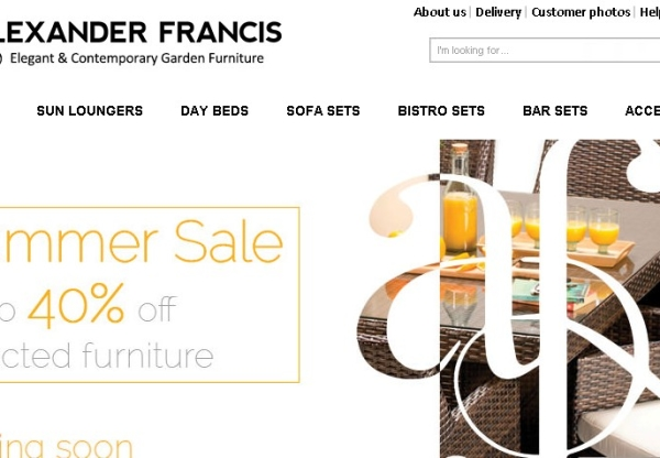 Alexander Francis – Our Biggest Sale Ever