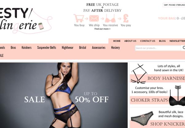 New Advertiser – Esty Lingerie