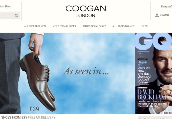 New Advertiser – Coogan London