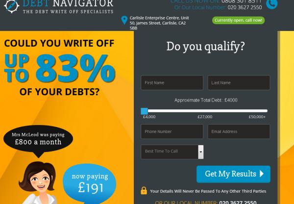 New Advertiser: Debt Navigator!