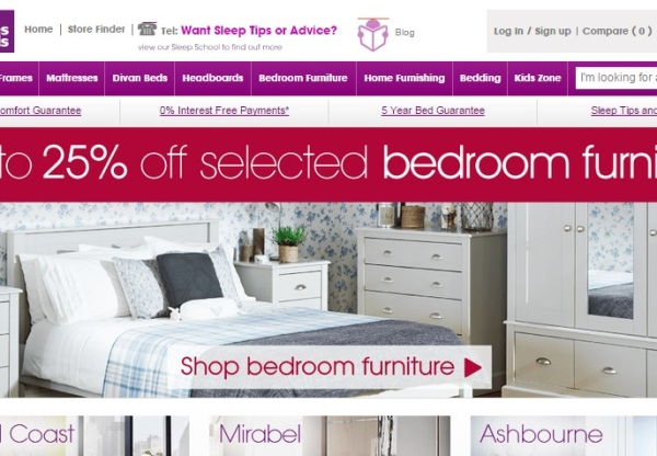 Bensons for Beds – new sale and voucher code