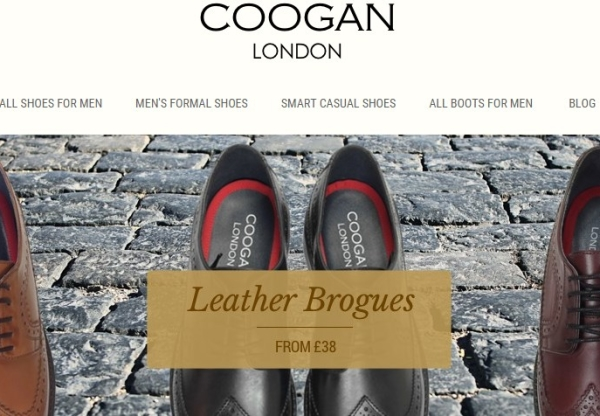 Coogan London: Making leather shoes affordable again