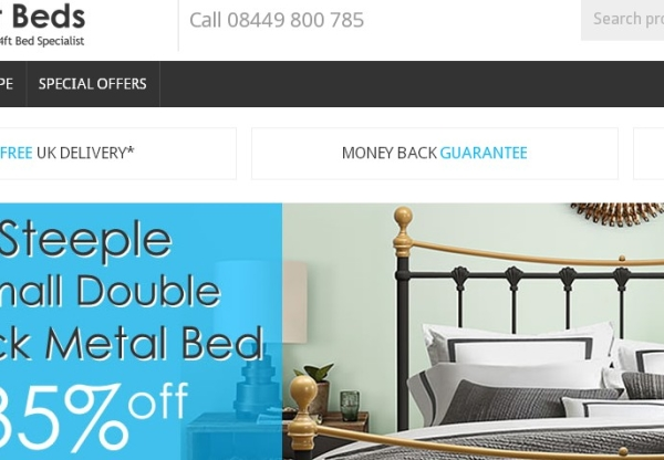 Just 4ft Beds – New voucher codes