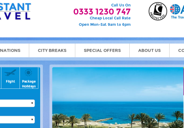 Constant Travel: Holiday Deals & Voucher Code