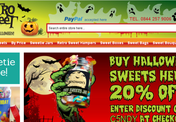 Retro Sweet | 20% Off Voucher + Reduced Halloween Products
