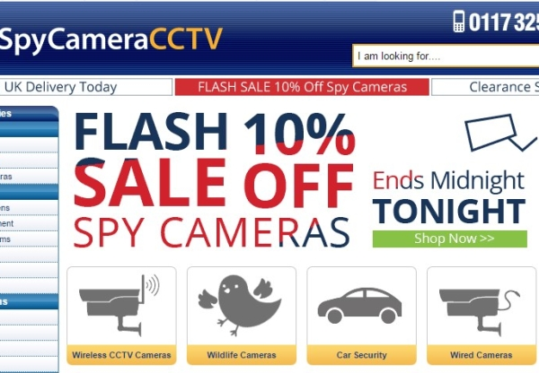 Spy Camera CCTV: Free shipping now available