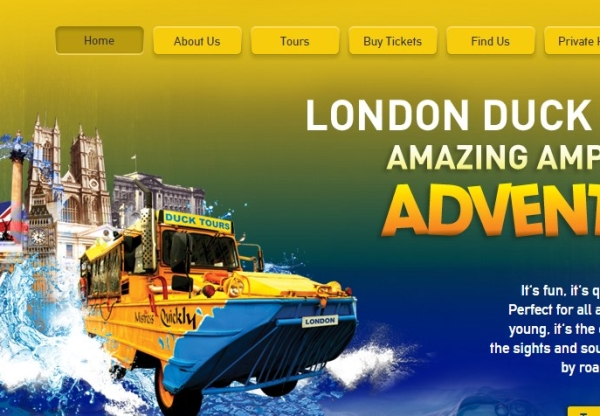 London Duck Tours: 10% off Sightseeing Tour