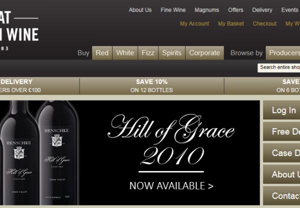 New advertiser: Great Western Wine!