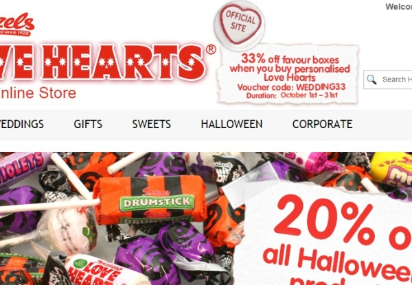 LoveHearts: Wedding promotion