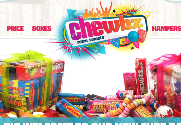 Extended Commission & 10% Voucher with Chewbz Retro Sweets