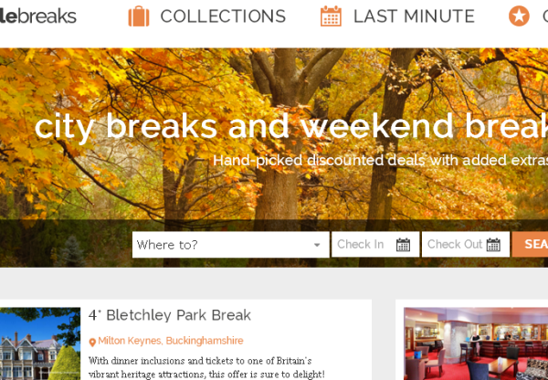Up to £20 off with Great Little Breaks