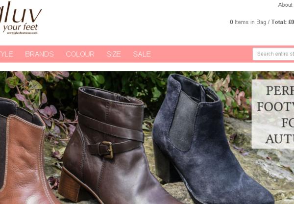 15% Voucher with Gluv Footwear!