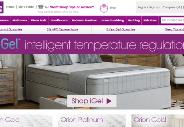 Bensons for Beds – new code, publisher incentive and commission rate