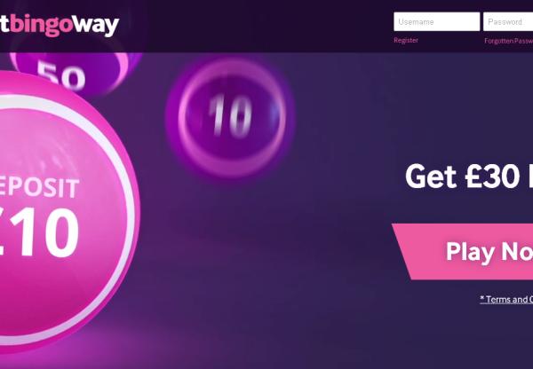 New advertiser Betway Bingo!