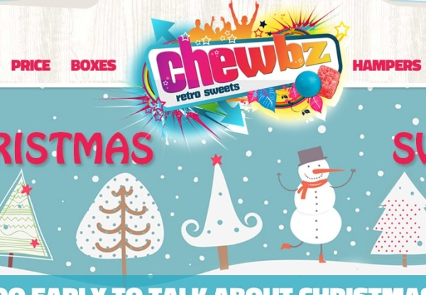 This Christmas with Chewbz Retro Sweets