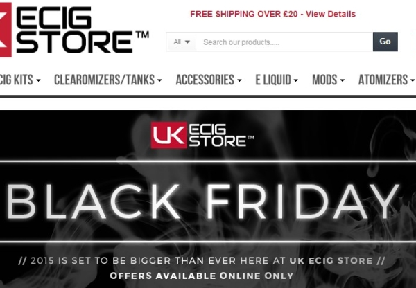UK ECIG STORE, BLACK FRIDAY DEALS!
