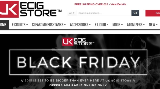 UK ECIG STORE, BLACK FRIDAY DEALS!