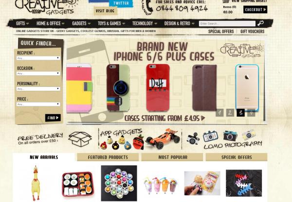 New Advertiser: Creative Gadgets